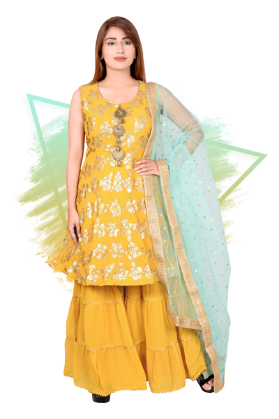 Ladies Designer Suits In Meerut